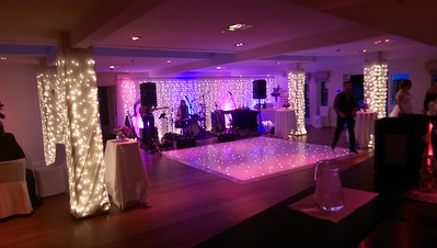RedCat LED 12 x 12 dance floor