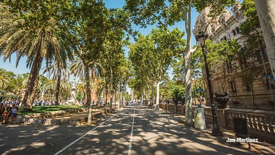 ArcDelTriomf Classic Pedestrian Tree Monument July Classic July Bcn-16