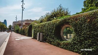Poblenou Centre Park Area Flowers Walls Park Street Modern Bcn-11