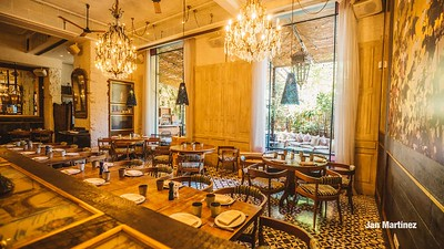 ChezCoco Restaurant ModernTerrace Bcn-21