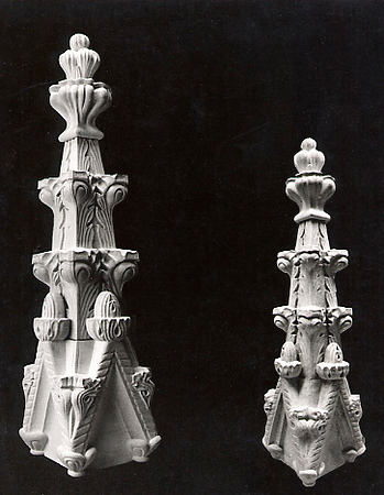Finials for Grace Church, NYC
