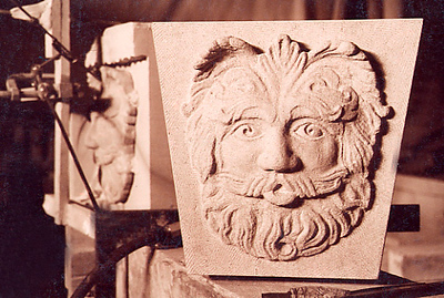 Face Carving for Fountain