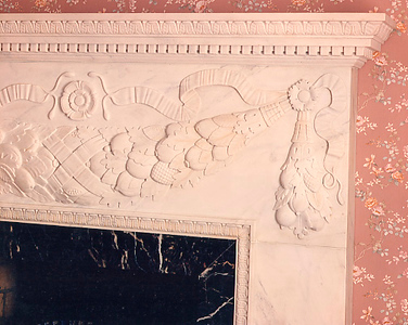 Fireplace - detail