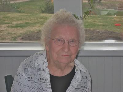 Wilma Stone, on her birthday, 2006