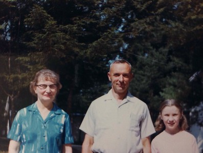 Wilma, Charles and Jenny Stone, 1966