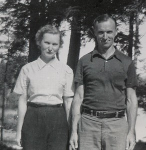 Wilma and Charles Stone, early 1950's