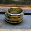 Here are the three rings stacked...