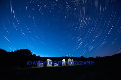 Drombeg Star Trails 09-08-2021