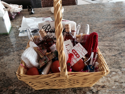 2014 01-26 Welcome Basket we created
