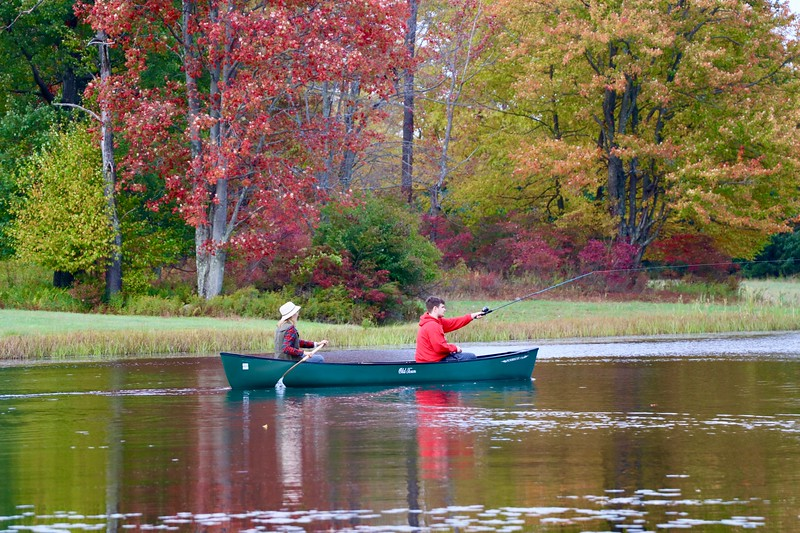 Casting and Paddling