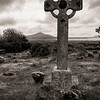 Cross at Kilmalkedar, County Kerry, May 2012