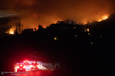 Residents in the Canyon Oaks area were given evacuation orders because of the Stony Fire, July 13, 2018,  in Chico, California. (Carin Dorghalli -- Enterprise-Record)