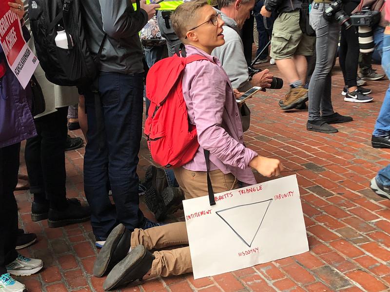 Stop Kavanaugh Rally October 1 2018 Boston City Hall
