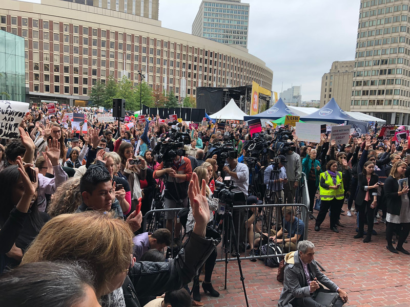 Stop Kavanaugh Rally October 1 2018 Boston City Hall