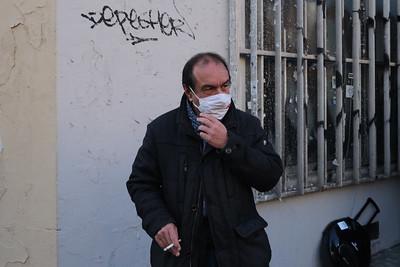 Philippe Martinez (CGT) Première Marche des libertés, à Paris, le samedi 28 novembre 2020.