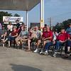 15May20 - LSHF Flag Raising John Laws 021 Jack, Walt, Jim, Caryl