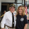 WWII veteran and photographer Karie H. of Front Echelon photography.