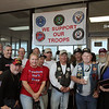 Members of the Southeast Texas Patriot Guard Riders at the local  veterans meeting at Storage 105 on Wednesday during a presentation honoring Constable Gene Deforest, and Captain Mike White of the Montgomery County Constables Pct. 2 Office.  Constable Deforest and Captain White were being honored for their continued support and service to our military, their families, and Patriot Guard Riders. Constable Deforest and Captain White were presented with a plaque of appreciation by the Southeast Texas Patriot Guard Riders