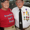 WWII veterans Ike and Roy