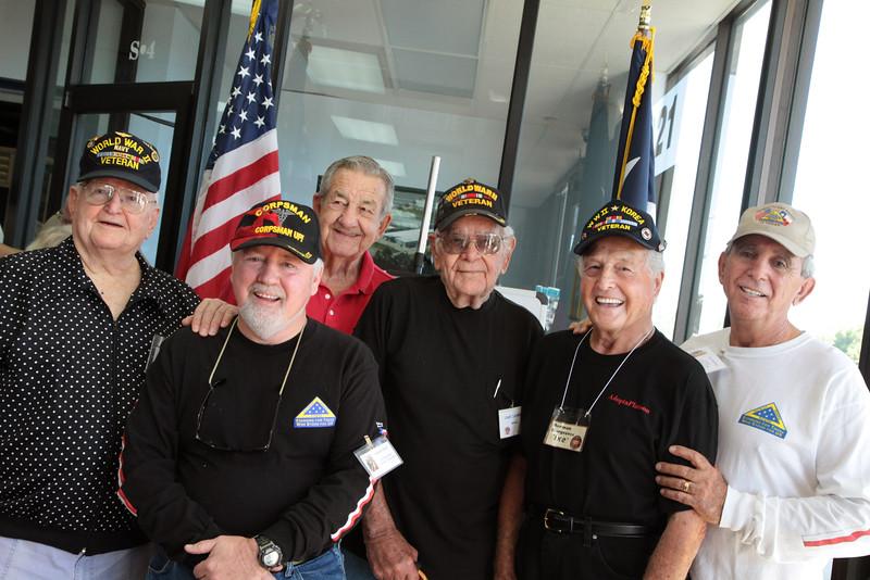 12Apr18 - Dave Hughes, Mark, Randy, Lloyd, Ike, Lou