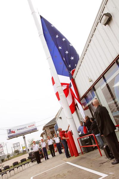 13Apr3 - Del Lammers Flag Raising 030