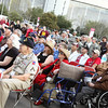 U.S. Marine Band entertains veterans at the 2012 Houston Livestock Show and Rodeo