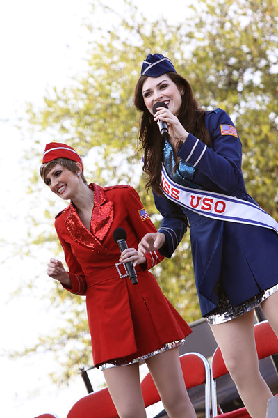 The USO Liberty Bells entertain WWII veterans, members of the military and their families.