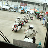 WWII Veterans participate in the Houston Livestock Show and Rodeo Armed Forces Appreciation Day. Montgomery County Sheriff escort.