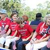 13Jul4 - Walden Parade Vet Float 040 Erica, Fred, Roselyn, Martha, Liljia, John