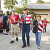 13Jul4 - Walden Parade 033 Fred Hake, Harding & Juanita Boeker