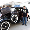 James. Veterans and friends enjoyed a trip down memory lane while viewing a Model A Ford.  Model A courtesy of Jerry Kent from the Pinewood Model A club.