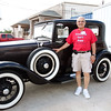 Larry. Veterans and friends enjoyed a trip down memory lane while viewing a Model A Ford.  Model A courtesy of Jerry Kent from the Pinewood Model A club.
