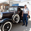 Pete. Veterans and friends enjoyed a trip down memory lane while viewing a Model A Ford.  Model A courtesy of Jerry Kent from the Pinewood Model A club.