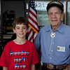 June 1, 2011 Flag raising in honor of WWII veteran Ernest Hildebrandt