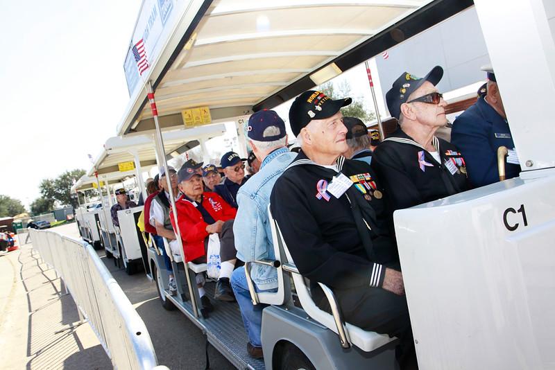11Mar2 - HLSR Armed Forces Appreciation Day  - arrival 022