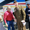 WWII veterans Jim Pfieffer and Harding Boeker