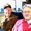 WWII veterans Harding Boeker, Jim Pfieffer