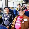WWII veterans Joe Gantt, Roy Hughes