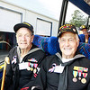 WWII veterans John Laws and Ike Hargraves