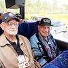 WWII veterans Doug Stewart, Mel Trennary