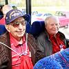 WWII veterans Bob Bray, Edwin Fountain