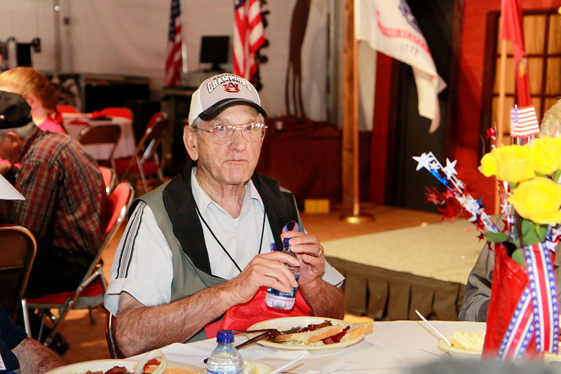 """WWII veteran and Prisoner of War, George Waters. George was a B-17 crewmember who became a prisoner of war for 15 months. George's POW story can be read  in his book """"No Thought For Tomorrow."""""""