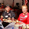 "WWII veteran Joe Gantt and military suppoter and founder of  <a href=""http://www.proudtobeapatriot.com"">http://www.proudtobeapatriot.com</a>  Sherri Kennedy"