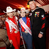 Miss Rodeo Texas Princess and WWII veteran Ike Hargraves