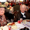 WWII veterans R.B. Kelly and Renard Kampstra. Renard was a B-17 crew member who became a prisoner of war for 11 months.