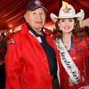 WWII Choctaw veteran John Brown and Mrs. Rodeo Houston