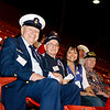 WWII veterans enjoy a day at the rodeo. Armed Forces Appreciation Day at the Houston Livestock Show & Rodeo.