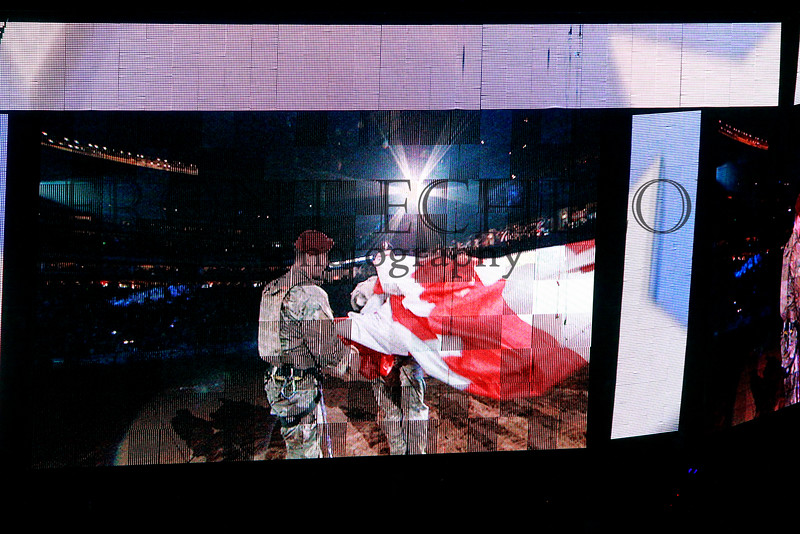 Air Force Special Forces flag presentation