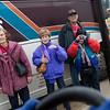 14Mar5 - HLSR Arrival 040 Roselyn Staton, Martha Haskell, Roger & Erika Sanchez