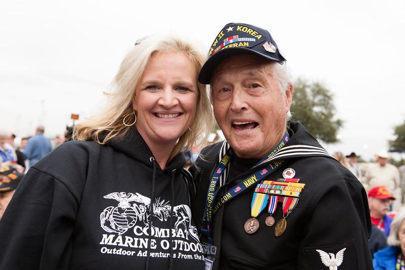14Mar5 - HLSR Ceremony 019 Marine Outdoors, Ike Hargraves